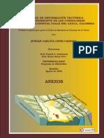 Analisis de Deformacion Tectonica en El Piedemonte de Las Cord Central y Occid Del Valle Del Cauca