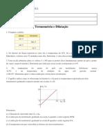 1º Lista de Física 2