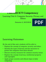 Ict competency LU8 Computer Security Privacy and Ethics