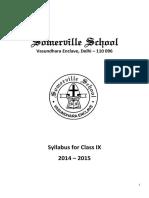 Academic Syl Lab Us Class i x