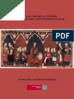 Lenguaje, Música y Texto Análisis de Una Relación Interdisciplinar