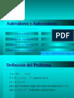 Clase 2010 - Autovalores