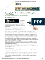 AV- Clearing Up The Mystery & Confu...mplifier Power Ratings - Pro Sound Web.pdf