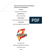 ZEECO-Smokeless Air Assist and Flare Gas Recovery Technology for Continuous Flare Management