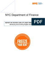 NYC RENT FREEZE Report_ Identifying and Qualifying Eligible Households