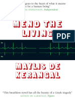 Mend the Living by Maylis De Kerangal