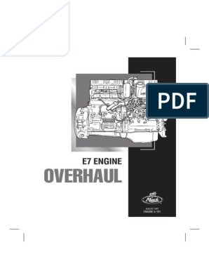215894303-Mack-E7-PLN-Service-Manual-5-101 pdf | Transmisión