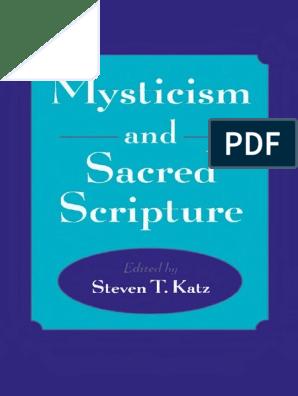 112830602 Katz Steven T Ed Mysticism And Sacred Scripture