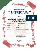 CADENA LOGISTICA DE EXPORTACION.doc
