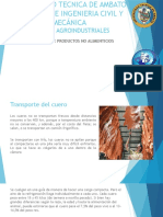 Transporte de Productos No Comestibles