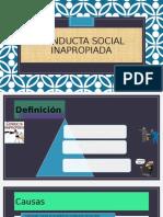 Conducta Social Inapropiada