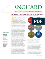 Vanguard Newsletter, Summer 2009 ~ Leadership Institute for Ecology and the Economy