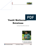Vande Math Aram Notes