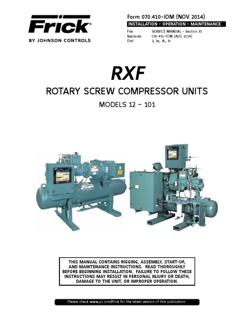 Compressor manual | Gas Compressor | Valve