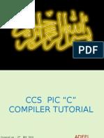 CCS PIC 'C' Compiler Tutorial