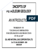 Concepts of Petroleum Geology