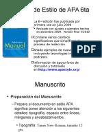Manual de Estilo de APA 6ta