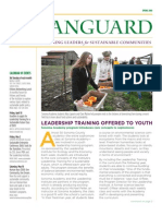 Vanguard Newsletter, Spring 2008 ~ Leadership Institute for Ecology and the Economy