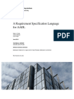 A Requirement Specification Language for AADL