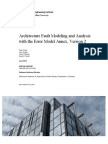 Architecture Fault Modeling and Analysis with the Error Model Annex, Version 2