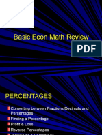 Basic Econ Math Review