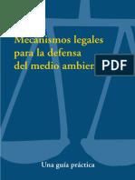 Mecanismo Legales Para La Defensa Del Medio Ambiente