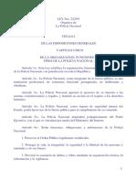 LEY 222 DEL 93 ORGANICA DE LA POLICIA NACIONAL PARAGUAYA.pdf