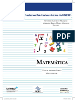 Apostila Matemática Unesp Bauru.