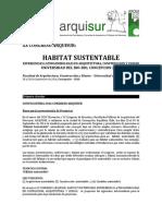 Bases Convocatoria Xx Congreso Arquisur PDF 598 Kb