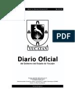 Diario Oficial Del Estado de Yucatan 22 de Junio de 2016