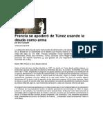 Eric Toussaint_Francia Se Apodero de Tunez Usando La Deuda Como Arma