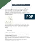 Marco Teórico de La Educación Especial-Cgio Los Robles 2007