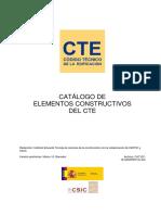 Tablas CAT-EC Materiales Construccion