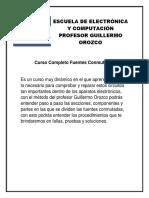 Temario Fuentes Conmutadas