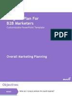 Program Plan for B2B Marketers Marketo