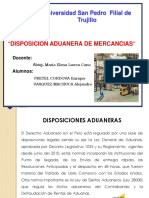 Disposicion Aduanera