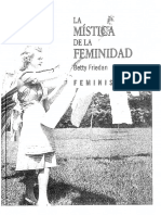 Friedan Betty - La Mistica de La Feminidad