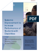 WestEd Recommendations for the Washoe County School District