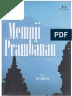 Memuji Prambanan; Bunga rampai cendekiawan Belanda tentang kompleks percandian Loro Jonggrang