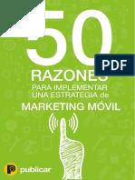50 Razones Para Implementar Una Campaña de Marketing Móvil