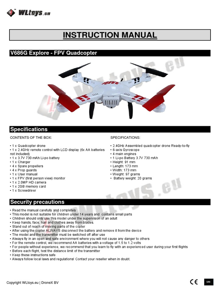 V686g Quadcopter Wiring Diagram Not Lossing Esc Battery Charger Helicopter Rh Scribd Com Diy Schematics Ardupilot Diagrams