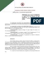 Resoluçao 20 Do Cnmp (Controle Externo Da Ativ Policial)