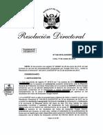 Resolución Directoral Nº 026 2016 JUS DGPDP