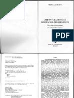 Literatura Romana sub semnul modernitatii