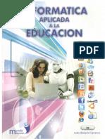 Portada - - Informatica Aplicada a La Educacion - - Lcdo. Bladymir Carranco - Mundo Escolar