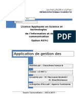 Rapport PFE application de gestion des incidents réseaux