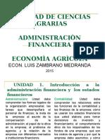 ADMINISTRACION FINANCIERA 2015