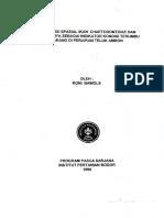 839f1-Distribusi Spasial Ikan Chaetodontidae Dan Peranannya Sebagai Indikator Kondisi Terumbu Karang Di Perairan Teluk Ambon
