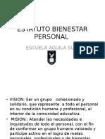 Estatuto Bienestar Personal
