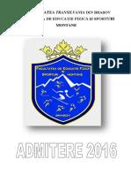 Brosura Admitere 2016 1006 Brasov